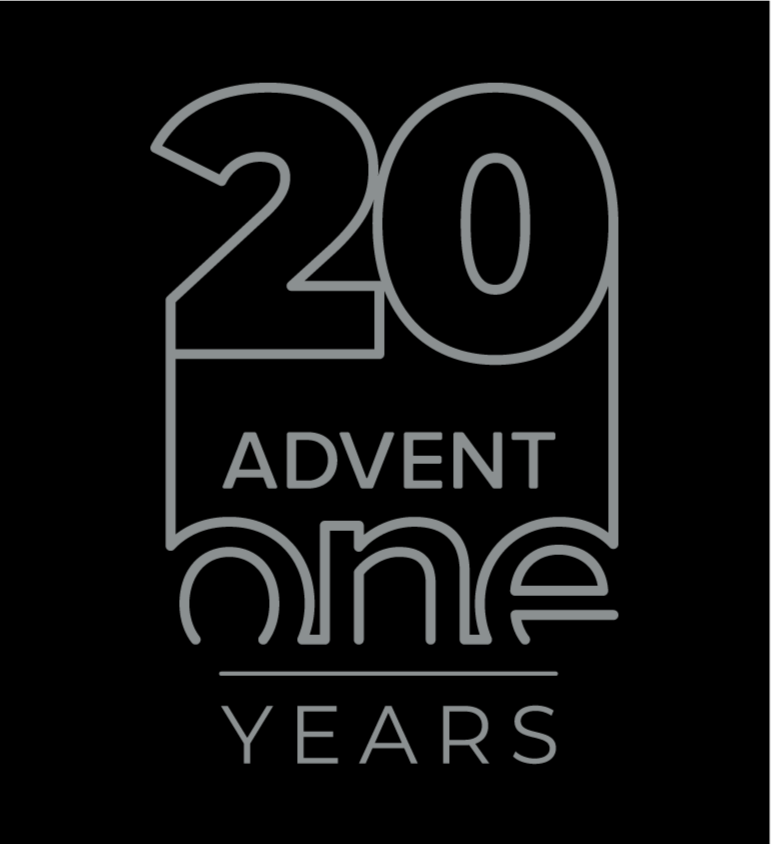 Advent One - IT Services - 20 Years logo